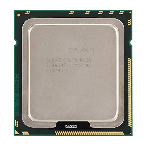 CPU-processor voor Xeon X5675 Six-Cor Twaalf threads 12M cache LGA1366 Officiële CPU-versie 6.4GT / s QPI-bus