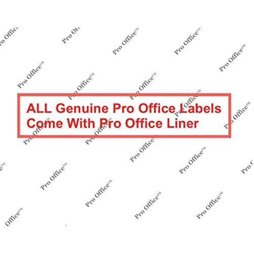 Pro Office Premium 3000 Self Adhesive Address Labels For