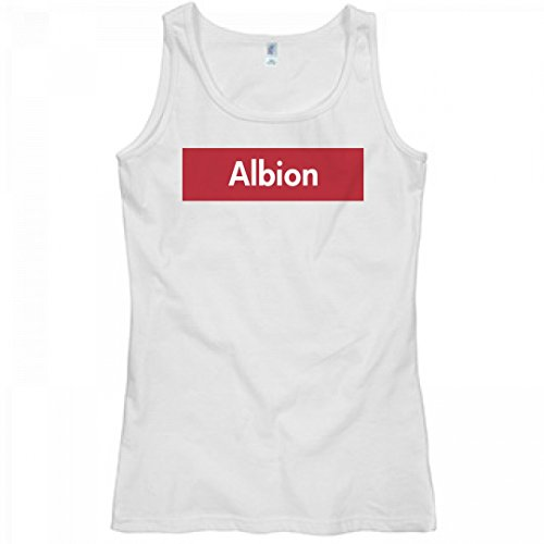 FUNNYSHIRTS.ORG Trendy Supreme Albion Pride: Misses Relaxed Fit Softstyle Tank Top
