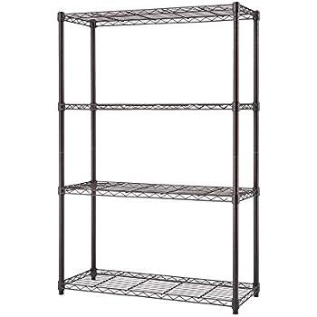 Amazon Com Trinity 4 Tier Nsf Wire Shelving Rack 36 By