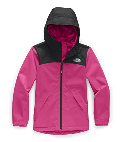 The North Face Girls' Warm Storm Jacket, Mr. Pink, L (North Faces For Teens)