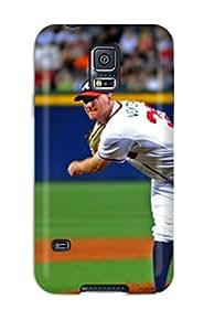 Hot 4615044K902902807 atlanta braves MLB Sports & Colleges best Samsung Galaxy S5 cases