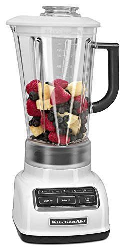 KitchenAid KSB1575WH 5-Speed Diamond Blender with 60-Ounce BPA-Free Pitcher - White by KitchenAid (Image #3)