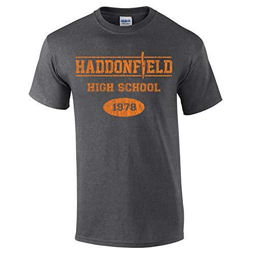 Swaffy Tees 10 Haddonfield High School Funny Men's T Shirt Dark Heather]()