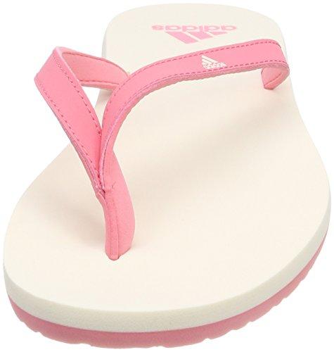 new style 5df32 56ea5 adidas Damen Eezay Essence Dusch- Badeschuhe Pink (Chalk Pink S18chalk  White ...