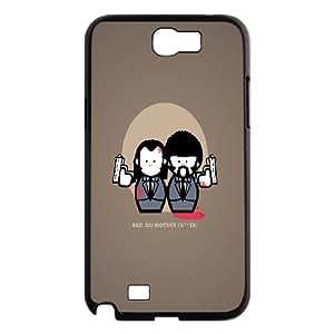 Samsung Galaxy Note 2 Case Pulp Fiction Cartoon, Naza, {Black}