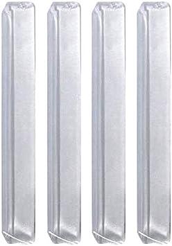 Autoscheich Türkantenschutz Transparent Türschutzleisten Türkantenschoner Selbstklebend 4er Set 105mm Für Auto Kfz Lkw Transporter Caravan Auto