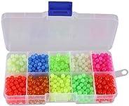 Facikono Fishing Beads 10 Colors - 1000 Pack