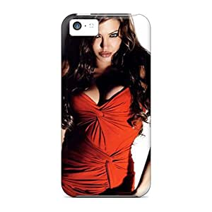 ChrisHuisman Fashion Protective Angelina Jolie Cases Covers For Iphone 5c