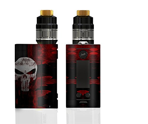 CUSTOM DECAL STICKER for Wismec Reuleaux RX GEN3 300W TC MOD Protective Graphic Wrap Cover Shield Skin (Punsiher)