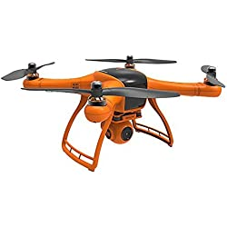 "Wingsland Minivet V2 with 5"" LCD, 1080P HD Camera on 3-Axis Gimbal, GPS position hold and return to home features. (2017 Version)"