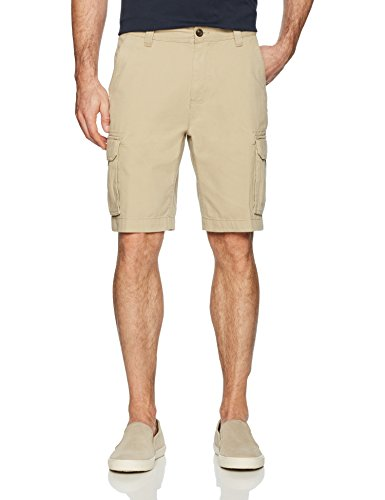 Amazon Essentials Men's Classic-Fit Cargo Short, Khaki, - Short Basic