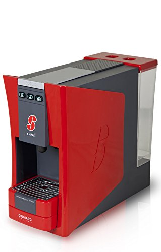 S.12 Espresso Coffee Capsule Machine Designed by Giugiaro By Essse Caffe (Red)