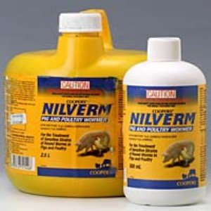 Schering Plough Nilverm Pig & Poultry Wormer 500ml