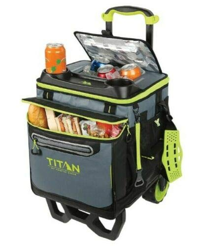 ATSENA Titan Deep Freeze Rolling Cooler - High Performance - 60 Can Capacity