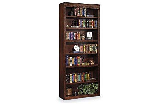 (Burnished Oak Seven Shelf Bookcase - 84