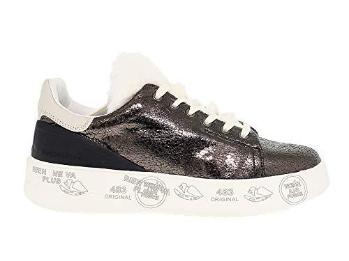 Grigio Donna Pelle Sneakers Belle3430 Premiata qgxPAwBI0A