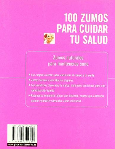 100 zumos para cuidar tu salud: 100 recetas naturales para estimular tu cuerpo y tu mente VIVIR MEJOR: Amazon.es: Sarah Owen, ANA; RIERA AGARAY: Libros