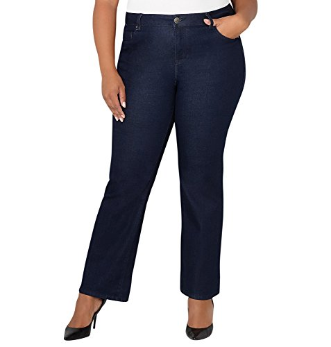 Boot Cut Rinse Wash (Avenue Women's 1432 Bootcut Jean In Rinse, 20 Rinse Wash)