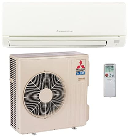 Mitsubishi 30,000 Btu/h 16 Seer Single Zone Mini Split Air Conditioning  System (