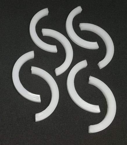Plastic CAPS for Designer Vertical OR Horizontal Radiator Brackets