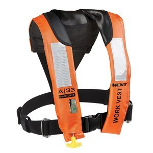 KENT A-33 in-Sight Automatic Inflatable Work Vest (56176)