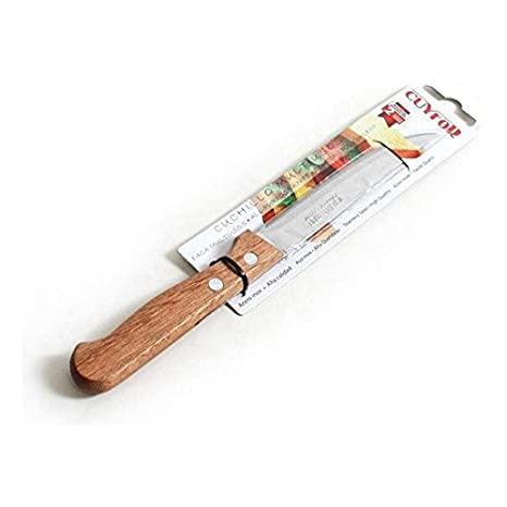 Cuyfor - Cuchillo Filo Multiusos 20,5cm Natura: Amazon.es: Hogar