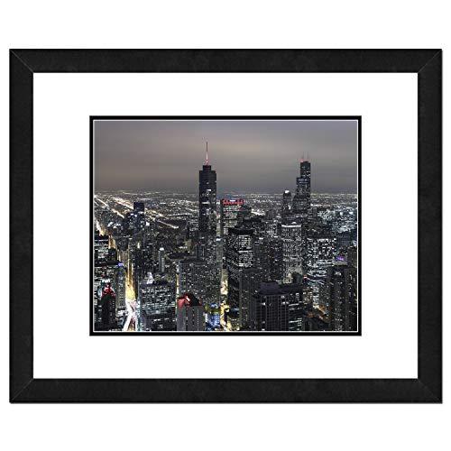 Photo File Chicago Skyline Framed Photo, 18