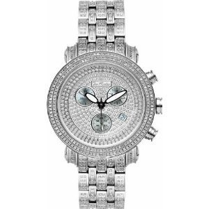 Joe Rodeo Diamond Men's Watch - CLASSIC silver 7.25 ctw
