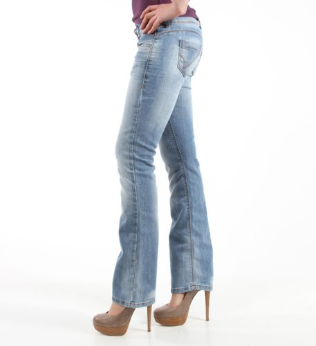 04efb87f325c1d ONLY Womens Bootcut Jeans New Princess Super Low, Denim, size. 34/32:  Amazon.co.uk: Clothing