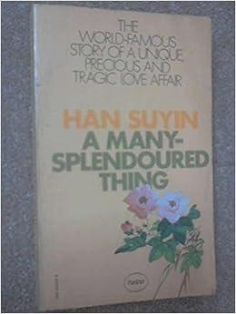 Book Many Splendoured Thing
