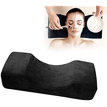 Malvaney Eyelash Extension Pillow Premium Memory Foam lash Pillow with Ergonomic Design | Eyelash Pillow by IPhyt Provides Great Support and Comfort to Your Clients with a Machine Washable Cover
