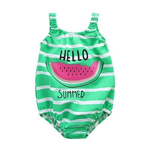 Mitlfuny Bañadores de una Pieza Verano Ropa bebé Traje de Baño Niña Playa Piscina Bikini Sandia