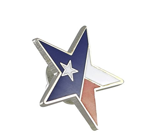 Lone Star State Texas Flag Pride Enamel Lapel Pin (50 Pins