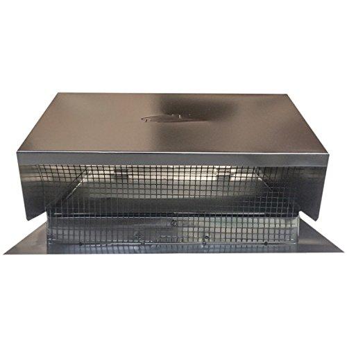 (BUILDERS BEST 12634 Roof Cap Flush, 6-8\