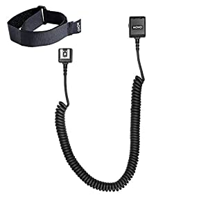 Movo Photo FCC Heavy-Duty E-TTL Off-Camera Flash Shoe Cord for Canon EOS