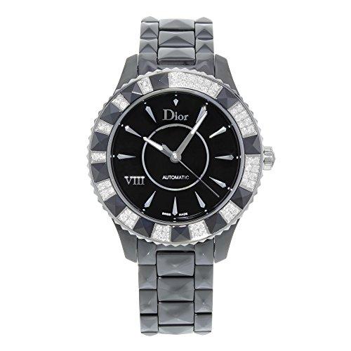 Christian Dior Women's CD1245E1C001 Black Eight Analog Display Swiss Automatic Black Watch - 41lB6EaAOXL - Christian Dior Women's CD1245E1C001 Black Eight Analog Display Swiss Automatic Black Watch