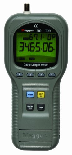 Megger TDR900 Hand Held Time Domain Reflectometer and Cable Length Meter