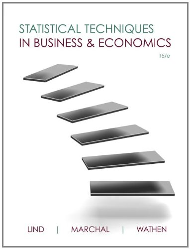 Statistical Techniques in Business & Economics with Connect Plus