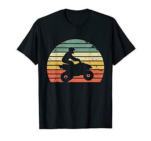 Vintage ATV 4 Wheeler Shirt Silhouette Retro Quad TShirt Tee