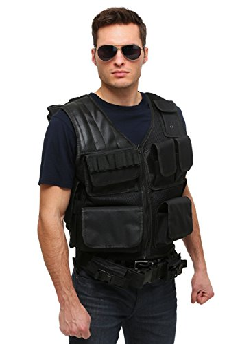 [Fun Costumes Tactical Vest Standard] (Swat Vest Costume)