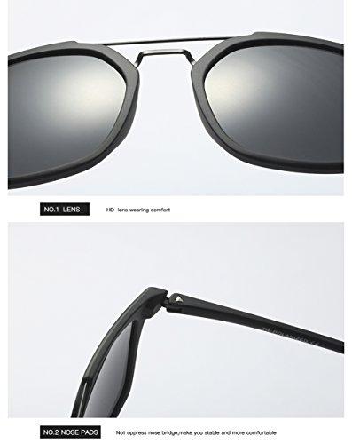 De para Hombre C1 Sol Gafas Polarizadas 400 Aviator C1 Protección Mujer para UV 1xwdqAYw