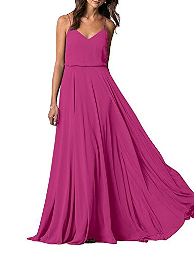 Beauty Linie A Kleid the Leader of Damen Fuchsia pqxwg