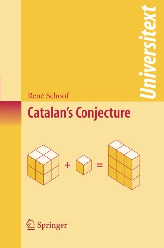 Catalan's Conjecture (Universitext) (Catalan Numbers compare prices)