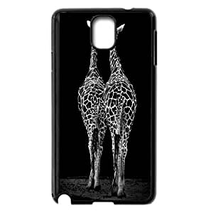Cut giraffe series protective cover For Samsung Galaxy NOTE4 Case Cover A-giraffe-S52553