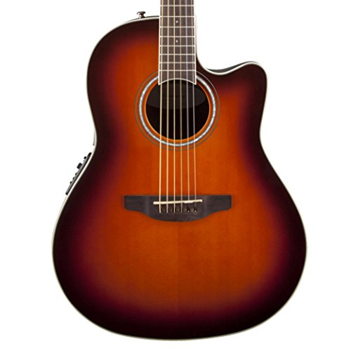 Colour Sunburst Electric Guitar (Ovation CS24-1 Acoustic-Electric Guitar, 2-Color Sunburst)