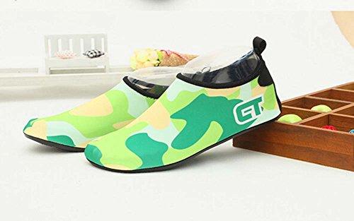 Treadmill vert Chaussures fluorescent de Doux Sport Chaussures de Yoga Chaussures Chaussures Randonnée de Eau 7ZxAwHEqI