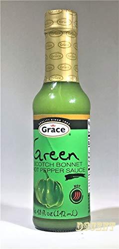 Grace Green Scoth Bonnet - Hot Pepper Sauce 4.8 fl oz Product of Jamaica