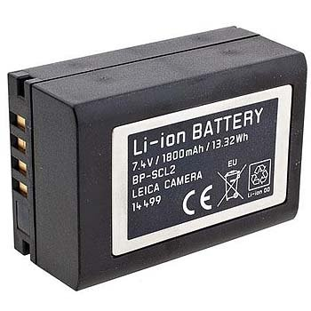 Leica 14499 Li-ion Battery Pack for BP- SCL2 (Black) by Leica