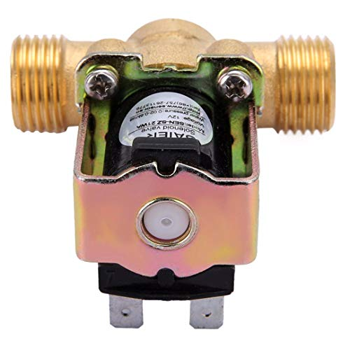 1pc Normally Closed Brass Electric Solenoid Valve 12V 1/2